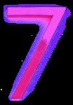 Neon 7 Pink - John Duffield duffield-design