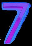 Neon 7 Purple - John Duffield duffield-design