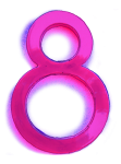 Neon 8 Pink - John Duffield duffield-design