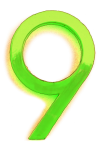 Neon 9 Lime - John Duffield duffield-design