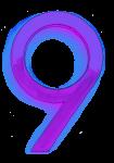 Neon 9 Purple - John Duffield duffield-design