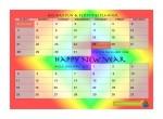 New Year Calendar- John Duffield duffield-design
