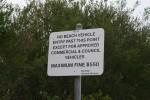 No Beach Vehicles Fine $550 Bev Dunbar Maths Matters