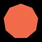 Nonagon Regular - John Duffield duffield-design