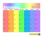 November 2014 calendar - John Duffield duffield-design