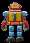 Number 1 robot - toys - Bev Dunbar Maths Matters