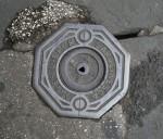 Octagonal Metal Water Access Lid Rome Bev Dunbar Maths Matters