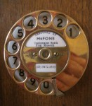 Old Telephone Dial Lyndhurst Hobart Bev Dunbar Maths Matters