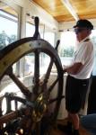 Paddle steamer Captain Bev Dunbar Maths Matters