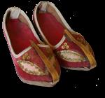 Pair of antique Indian Sandals Bev Dunbar Maths Matters