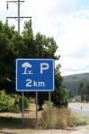 Parking 2 km Sign Bev Dunbar Maths Matters