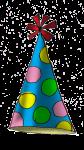 Party Hat (blue) - John Duffield duffield-design