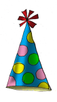 Party Hat1a - John Duffield duffield-design