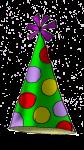 Party Hat (green) - John Duffield duffield-design