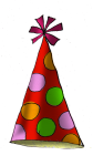 Party Hat1d - John Duffield duffield-design