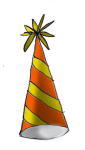Party Hat2c - John Duffield duffield-design