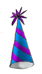 Party Hat2d - John Duffield duffield-design