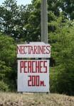 Peaches 200 m Road Sign Bev Dunbar Maths Matters