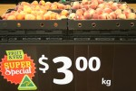 Peaches $3 per kg Bev Dunbar Maths Matters