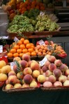 Peaches 4 euros per kilo Venice Italy Bev Dunbar Maths Matters