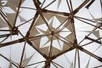 Pentagonal Units in Giant Kite Sculpture SBTS 2009 Bev Dunbar Maths Matters
