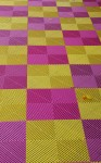 Pink & yellow Checkerboard Pattern Bev Dunbar Maths Matters