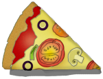 Fraction Pizza - Eighth - John Duffield duffield-design