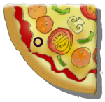 Fraction Pizza - Quarter - John Duffield duffield-design
