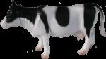 Plastic Toy Cow - farm animal Bev Dunbar Maths Matters