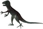 Plastic Toy Dinosaur Allosaurus Bev Dunbar Maths Matters