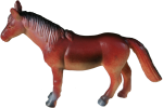 Plastic Toy Horse - farm animal Bev Dunbar Maths Matters