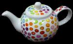 Polka Dot Teapot $38 Bev Dunbar Maths Matters