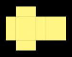 Rectangular (Oblong) Prism Net (colour) John Duffield duffield-design