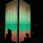 Rectangular Prism at VIVID Lightshow Sydney Bev Dunbar Maths Matters