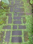 Rectangular brick path Bali Bev Dunbar Maths Matters