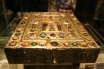 Rectangular prism - gilded reliquary Box Rome Bev Dunbar Maths Matters