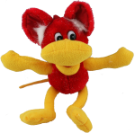 Red Yellow Creature - toy Bev Dunbar Maths Matters