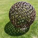 Richard Moffatt Metal Sphere (Wild Brumby Jindabyne) Bev Dunbar Maths Matters