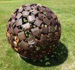 Richard Moffatt Sphere Sculpture (Wild Brumby Jindabyne) Bev Dunbar Maths Matters