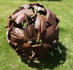 Richard Moffatt old shovel Sphere (Wild Brumby Jindabyne) Bev Dunbar Maths Matters