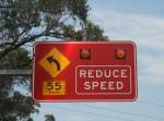 Road Sign 55 kph (2) Bev Dunbar Maths Matters