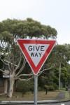 Road Sign Give Way Bev Dunbar Maths Matters