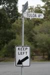 Road Sign Keep Left Bev Dunbar Maths Matters