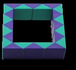 Rubiks Snake Oblong 1 Bev Dunbar Maths Matters copy 2