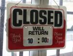 Shop Closed Sign Bev Dunbar Maths Matters