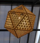 Shopping Centre Icosahedron Light Bev Dunbar Maths Matters