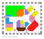 Shopping Centre Map with Shop Names - John Duffield duffield-design