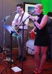 Singers Jess and Matt Bev Dunbar Maths Matters
