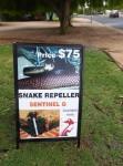 Snake repeller $75 Bev Dunbar Maths Matters