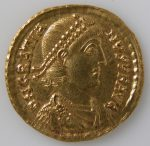 Solidus of Gratian 375 Ad Byzantine The Met NY 468728